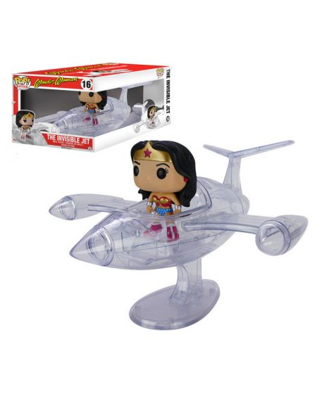 Funko Pop! Rides Wonder Woman The Invisible Jet 16