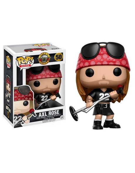Funko Pop Rocks Axl Rose 50