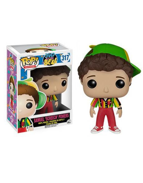 Funko Pop Saved by the bell Samuel Screech Powers 317