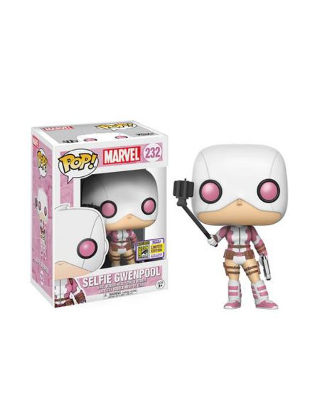 Funko Pop! Selfie Gwenpool 232 - Summer Convention 2017