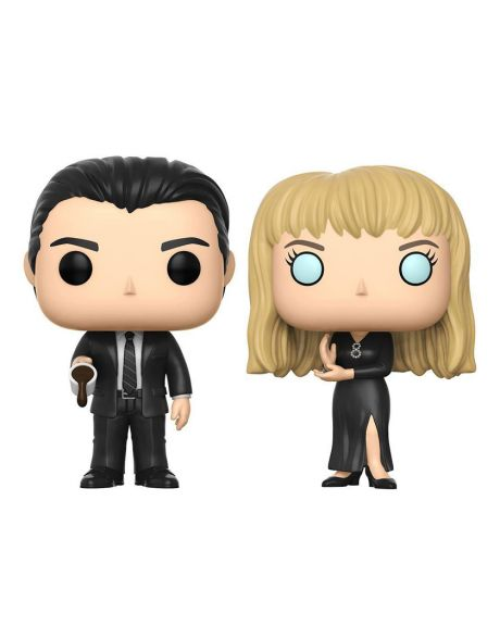 Funko Pop! Twin Peaks 2-Pack Cooper & Laura  - Summer Convention 2017