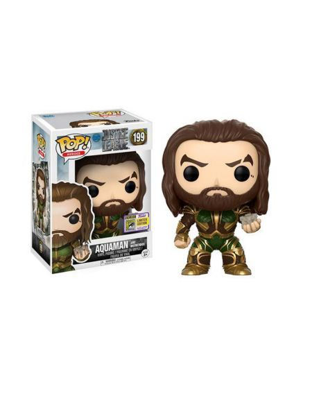 Funko Pop! Justice League Aquaman 199- Summer Convention 2017