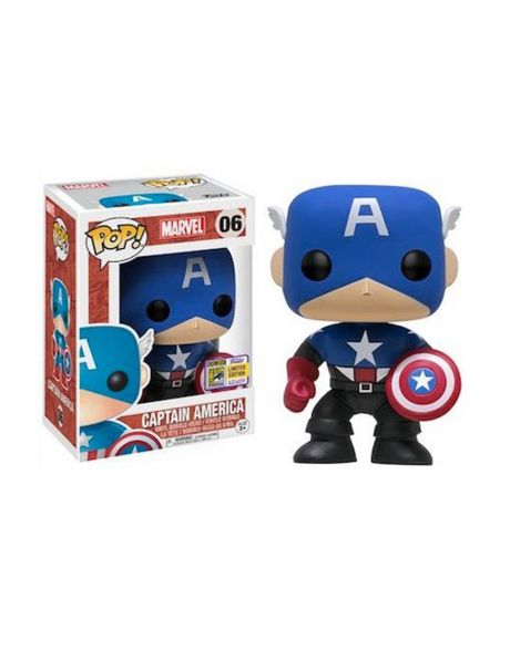 Funko Pop! Captain America 06 - Summer Convention 2017