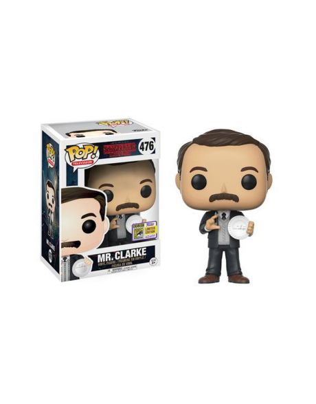 Funko Pop! Stranger Things Mr. Clarke 476 - Summer Convention 2017