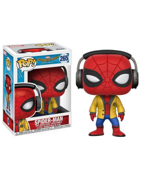Funko Pop! Spider-Man: Homecoming - Spider-Man (Headphones) 265