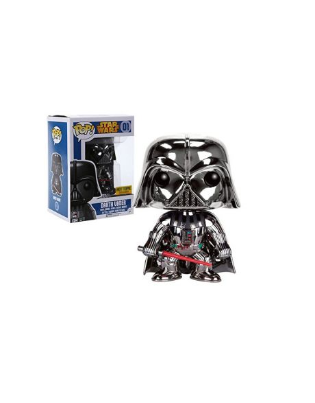 Funko Pop! Darth Vader 01 (Chrome)