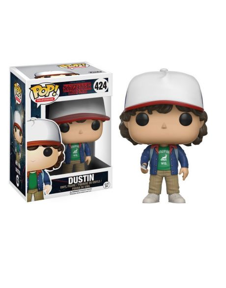 Funko Pop! Stranger Things - Dustin (giacca blu)