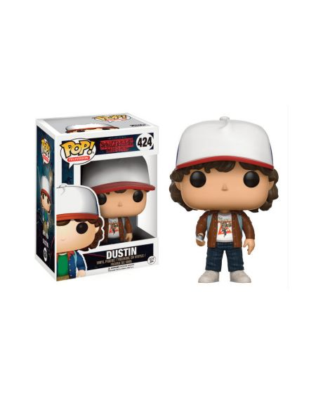 Funko Pop! Stranger Things - Dustin (giacca marrone)