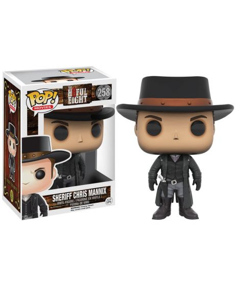 Funko Pop The Hateful Eight Sceriffo Chris Mannix 258