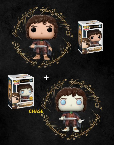 Funko Pop! Lord of the Rings - Frodo Baggins 444 (Regular + Chase)