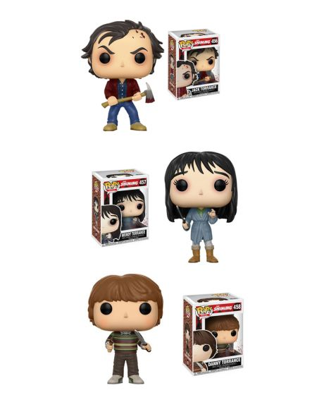 Funko Pop! Shining Set - Danny, Wendy e Jack Torrance