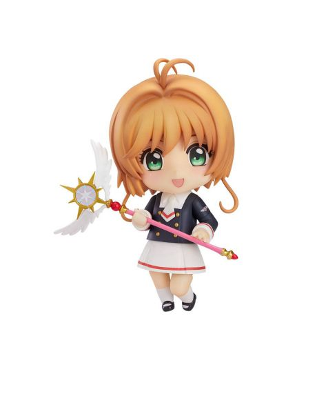 Cardcaptor Sakura Clear Card Nendoroid Action Figure Sakura Tomoeda Junior High Uniform