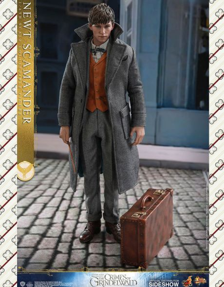 Hot Toys Fantastic Beasts the Crimes of Grindelwald Movie Masterpiece Action Figure Newt Scamander