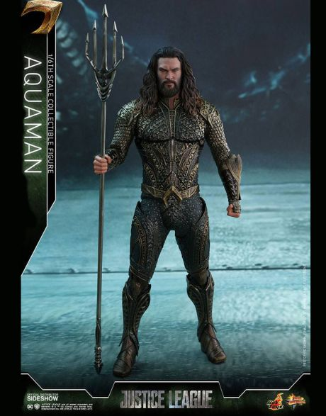 Hot Toys Justice League Movie Masterpiece Action Figure Aquaman