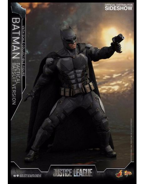 Hot Toys Justice League Movie Masterpiece Action Figure Batman Tactical Batsuit Version