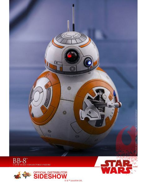 Hot Toys Star Wars Episode VIII Action Figure BB-8