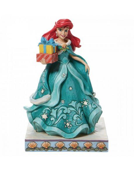 Jim Shore Disney Tradition - Ariel Christmas
