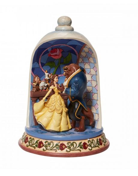 Jim Shore Disney Tradition Beauty and the Best - Cupola