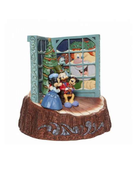 Jim Shore Disney Tradition - Christmas Carol Carved By Heart