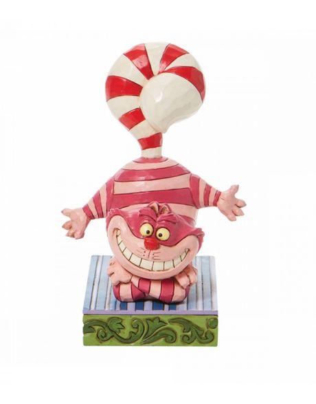 Jim Shore Disney Tradition - Christmas Cheshire Cat