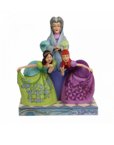 Jim Shore Disney Tradition - Lady Tremaine And Ugly Step Sisters