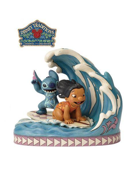 Jim Shore Disney Tradition - Lilo e Stitch 15th Anniversary