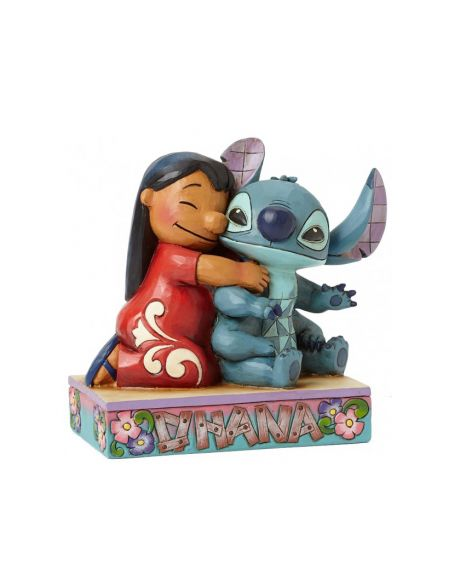 Jim Shore Disney Tradition - Lilo e Stitch Ohana