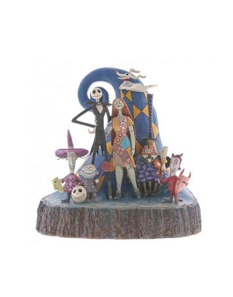 Jim Shore Disney Tradition - Nightmare Before Christmas Carved by Heart