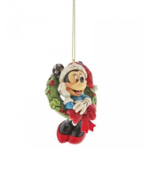 Jim Shore Natale - Decorazione per albero Minnie