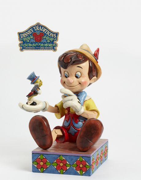 Jim Shore Disney Tradition - Pinocchio 75th