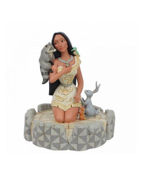 Jim Shore Disney Tradition - Pocahontas Brave Beauty
