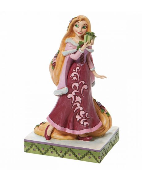 Jim Shore Disney Tradition - Rapunzel Christmas