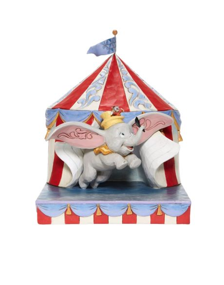 Jim Shore Disney Tradition - Dumbo Circus out of Tent
