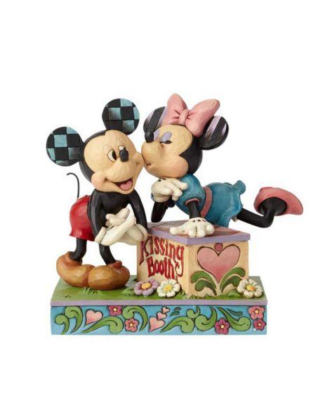 Jim Shore Disney Tradition - Kissing Booth Mickey & Minnie