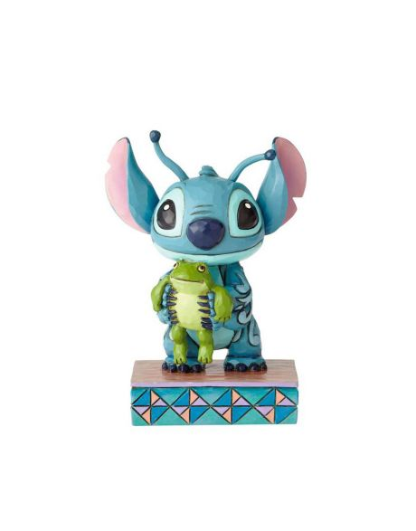 Jim Shore Disney Tradition - Stitch with frog