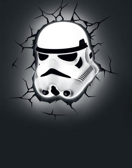 Lampada a muro Star Wars Stormtrooper