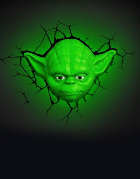 Lampada a muro Star Wars Yoda