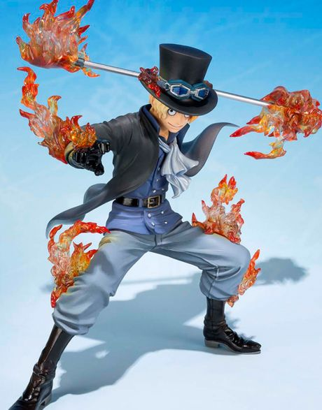 One Piece Sabo Figuarts Zero 5th laterale