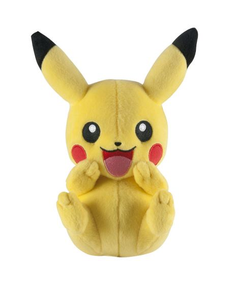 Pokemon peluche Pikachu che ride