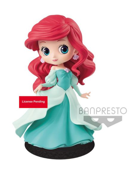 Q Posket Disney Ariel Princess (Green Dress)