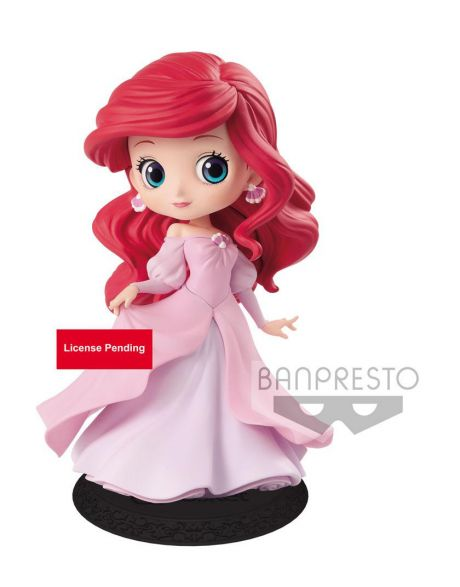 Q Posket Disney Ariel Princess (Pink Dress)