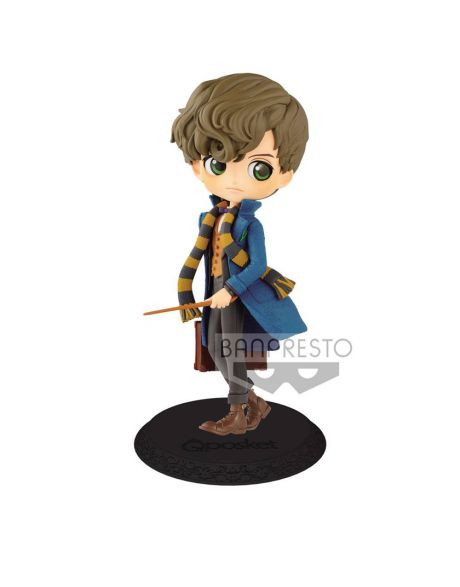 Q Posket Fantastic Beasts 2 Newt Scamander - A Normal Color Version