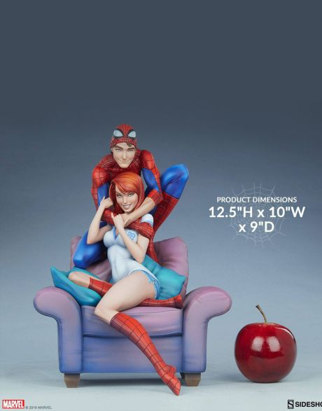 Sideshow Marvel Maquette - Spider-Man & Mary Jane
