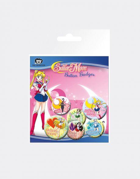 Spille Sailor Moon (6 pezzi)