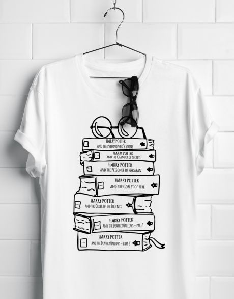 T-shirt artigianale Harry Potter