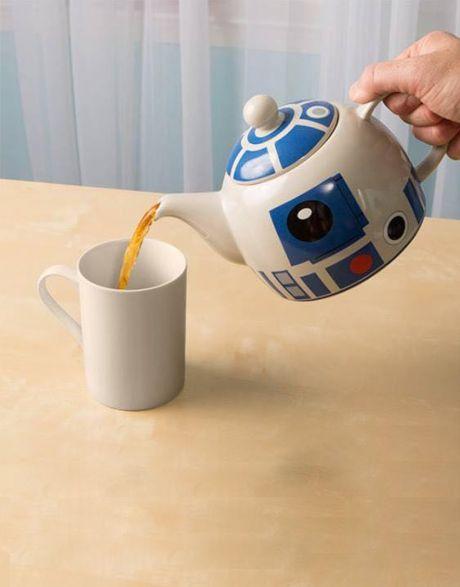 Teiera Star Wars R2 D2 dettaglio