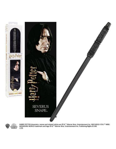 Severus Snape bacchetta e segnalibro lenticolare