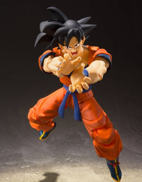 Bandai Dragonball Z S.H. Figuarts - Son Goku (A Saiyan Raised On Earth)
