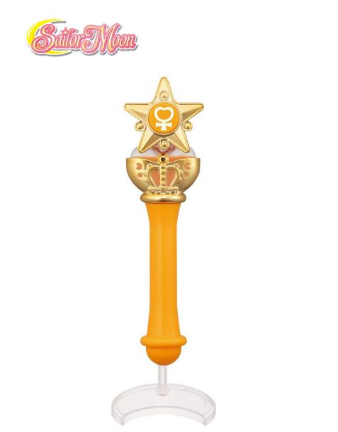 Bandai replica scettro Sailor Moon - Moon Stick & Rod Collection 2 - Sailor Venus Stick