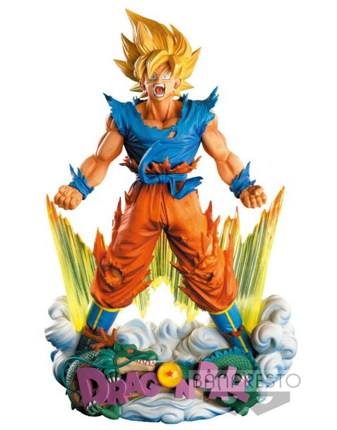 Banpresto Dragonball Z Super Master Stars Piece -  The Son Goku